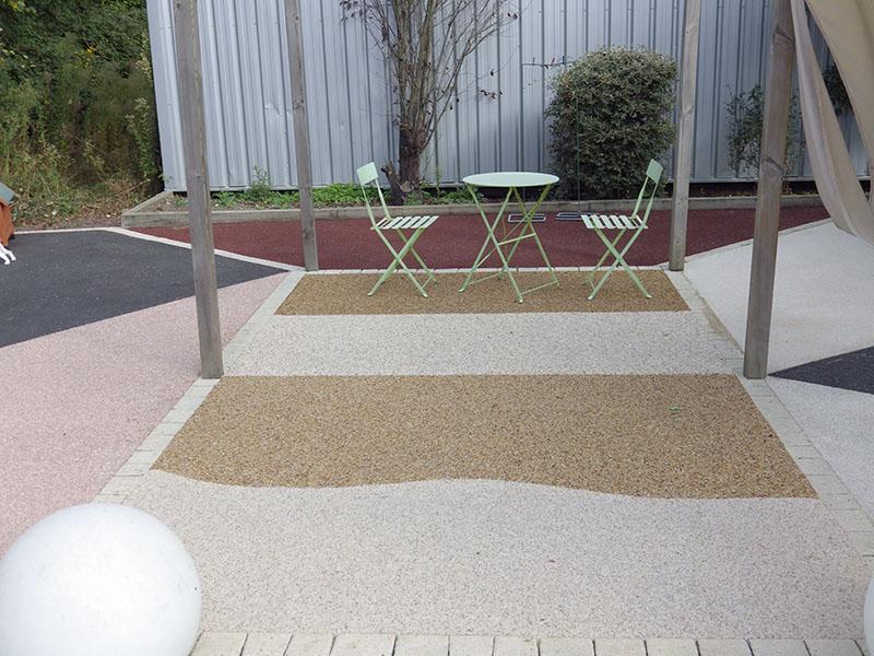 Resine terrasse exterieur cliquez with resine terrasse for Carrelage pour cour exterieure